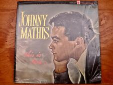 Johnny Mathis ‎♫ This Is Love ♫ Rare 1964 Mercury 1st Press Vinyl LP in Shrink