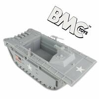 BMC WWII US ARMY MARINES AMTRAC LVT 1/32 FOR PLASTIC TOY SOLDIERS FREE SHIP
