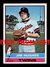 1976 Topps #4-331 EX/EX-MT Pick From List All PICTURED