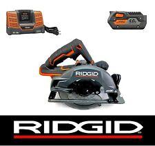 RIDGID 18 V VOLT GEN5X CORDLESS CIRCULAR SAW w/ BATTERY & CHARGER KIT R8652