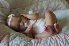 PRECIOUS BABAN A VERY BEAUTIFUL REBORN BABY GIRL LILLIAN WITH REVA SCHICK LIMBS
