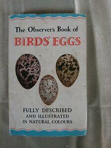 The Observer's Book of Birds Eggs G Evans 1960 #18
