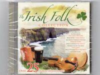THE IRISH FOLK COLLECTION - Over 25  Great Irish Tracks - CD