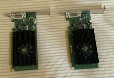 pair of NVIDIA NVS 315 1GB Dual Monitor  HDMI DVI VGA Video Card