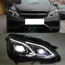 For Mercedes Benz E-class w212 e200 e260 e300 2014-2015 2pcs Headlight Assembly
