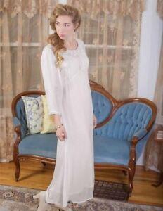 Victorian Trading Co April Cornell Hopeless Romantic Georgina Dress Ivory M 41B