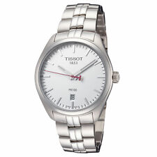 Tissot Men's T1014101103101 PR 100 Classic 39mm Silver Dial SS Watch