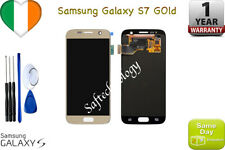 ORIGINALE GOLD SAMSUNG GALAXY S7 G930F SM-G930F LCD TOUCH SCREEN DISPLAY+ KIT