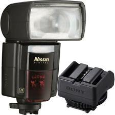 Nissin Di866 Mark II Flash + Sony ADPMAA Multi-Interface Adapter A7 III, A7R II