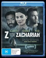 Z For Zachariah (Blu-ray, 2016)