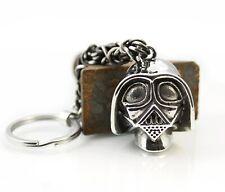SR03 Darth Vader Schlüssel Anhänger Edelstahl Biker Harley Star Wars Key Chain