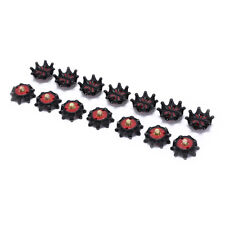 14Pcs golf shoe spikes pins 1/4 turn fast twist spikes replacement traininYX*wf