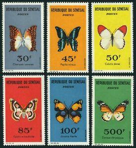 Senegal 221-226,no gum.Michel 267-272. Butterflies 1963:Papilio nireus,Danae