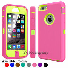 Hybrid Dual Layer Armor Protective Phone Case Cover for Apple iPhone 5 5S SE 5C