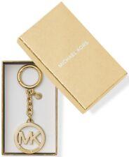 Michael Kors Logo Key Charm Gold in Gift Box NWT