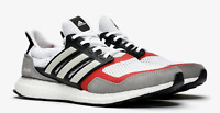 Adidas Ultraboost SL EF2027 White/Grey/Scarlet Red Men's SZ 8.5 Boost Shoes n1