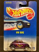 1991 Hot Wheels #171 : VW Bug - 0453