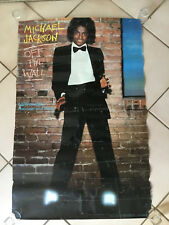 VINTAGE 1979 MICHAEL JACKSON OFF THE WALL RECORD PROMO POSTER RARE