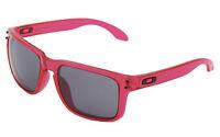 NEW! Oakley Holbrook Sunglasses Crystal Pink/Grey