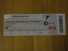 1899 Hoffenheim - FC Ingolstadt Ticket Karte 27.10.2010 DFB Pokal