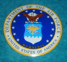 "DEPARTMENT OF THE AIR FORCE USA 3"" STICKER"