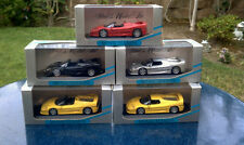 Minichamps 1:43 Ferrari 1995 F50 Set Spider, Coupe black silver yellow red
