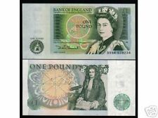 GREAT BRITAIN UK 1 P.P377 QUEEN  ISSAC NEWTON UNC NOTE