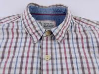 KS873 FAT FACE vintage jeans style check shirt size M, great condition!