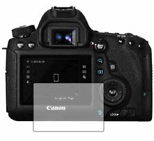 2 Pack Screen Protectors Cover Guard Film For Canon EOS 6D