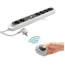 230V Funk Steckdosenleiste mit Fußschalter Steckdose Schalter Switch TV Standby