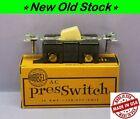 💡 Vintage Push Button Press PresSwitch Light Switch, Single-Pole Ivory, Hubbell