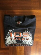 MAGLIA HARLEY DAVIDSON CYCLE JERSEY SHIRT TRIKOT MOTO SIZE XS YOUTH MADE IN USA