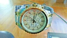 Fossil 10 ATM Diver men's all stainless steel CH-2510 111001S watch works great