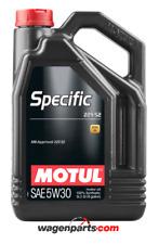 Aceite Motor Motul Specific 229.52 5W30 Mercedes Benz Blue TEC FAP Diesel, 5 Ltr