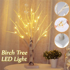 60cm Christmas Birch Tree LED Light Up Branches Twig Xmas Lamp Indoor Outdoor