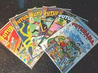 "!COMICS! ""Futurama"" <> Dino Verlag 2001 <> Band 1-6 <> guter Zustand"