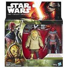Star Wars Force Awakens - Sidon Ithano & First Mate Quiggold - 3.75 figures