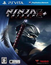 Used PS Vita Ninja Gaiden Sigma 2 Plus Japan Import (Free Shipping)