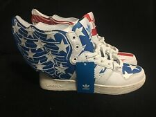 ADIDAS Sneakers x JEREMY SCOTT Wings 2.0 Stars & Stripes Red & Blue US 7.5 Male
