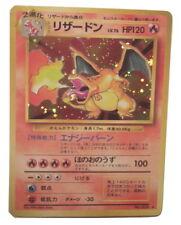 Pokemon Card Japanese Charizard - (#006) 4/102 1996 Base Set Rare Holo ***EXC***