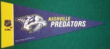 NASHVILLE PREDATORS NHL MINI PENNANT, NEW & MADE IN USA