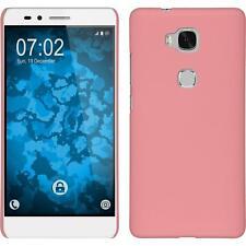 Funda Rígida Huawei Honor 5X - goma rosa Case