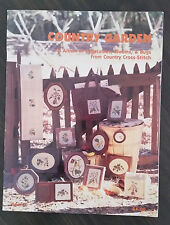 Country Garden Joyce C. Bailey Cross Stitch Leaflet Book 4 Butterfly Ladybug Bee