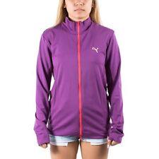 Women's PUMA Golf Seamless Track Jacket Gloxinia Purple/Red size XS (T67) $80