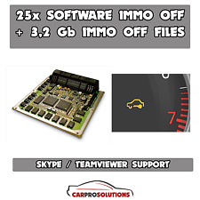 26x SOFTWARE Best Immo OFF Remove Decode Repair Pin Code +3,2 Gb Immo Off Files