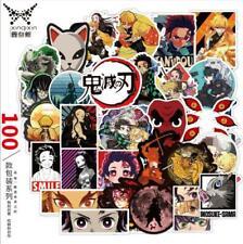 Demon Slayer: Kimetsu no Yaiba Sticker Aufkleber für luggage Gepäck Koffer 100st