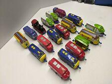 Lot Of 18 Chuggington Diecast Trains Ludorum Learning Curve - Engines & Cars