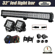 "28""Inch 180W Led Light Bar Offroad Driving For SUV Boat Spot Flood Lamp Ford"