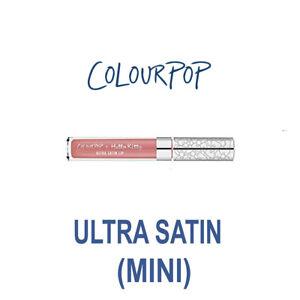 MINI SIZE - ColourPop Hello Kitty Ultra Satin Liquid Lipstick - TINY CHUM - pink