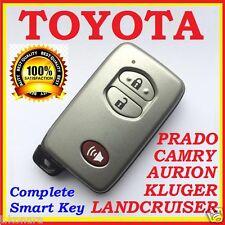 TOYOTA PRIUS / LANDCRUISER / AURION / CAMRY / PRADO SMART KEY REMOTE 3 BUTTONS